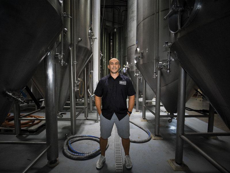 Maui Brewing Co Garrett Marrero