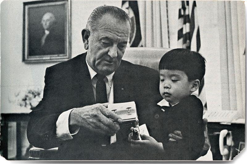 From Our Files 1967 Lbj