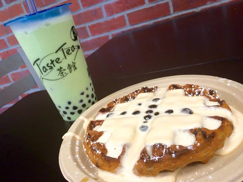 Taste Tea Boba Waffle
