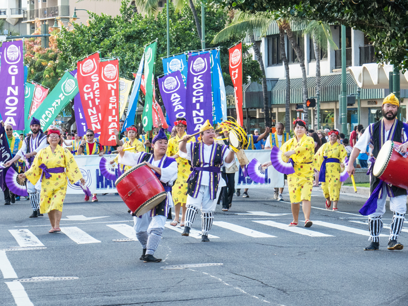 Pan Pacific Parade Drummers