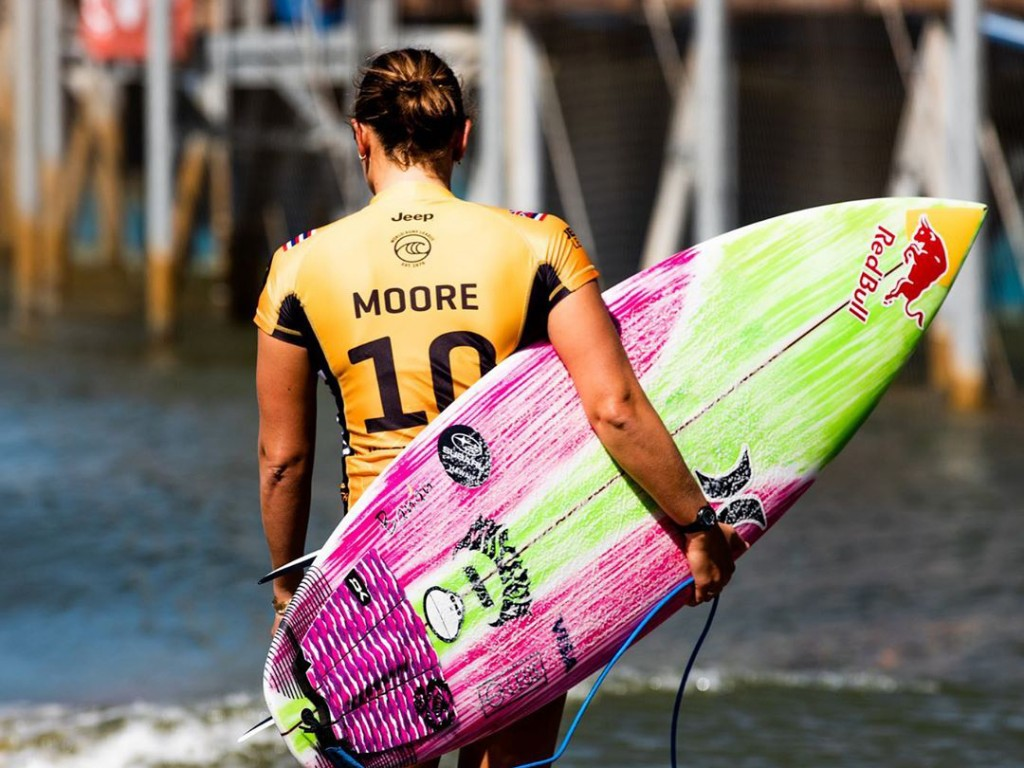Carissa Moore Won The Surf World Title And Nabbed An Olympic Games Slot At The Lululemon Maui Pro