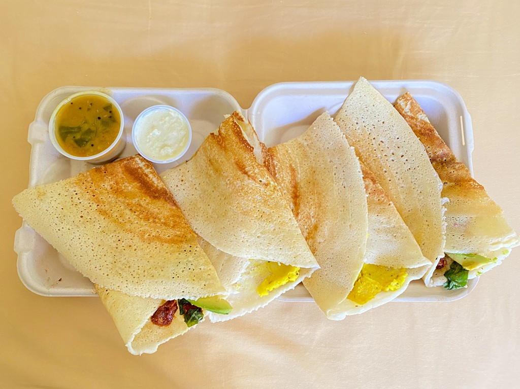 Ganesh Dosa Honolulu Magazine Kakaako Indian Takeout