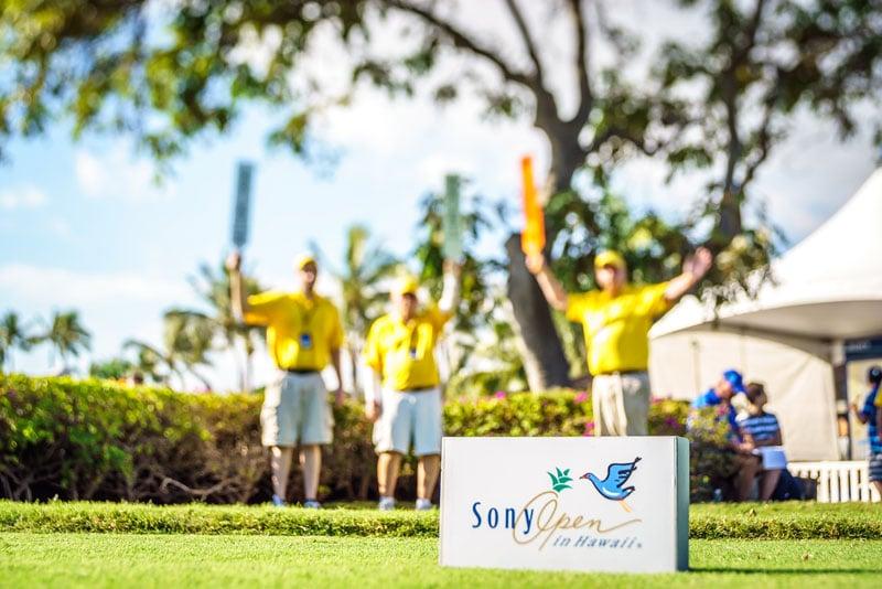 Sony Open Hawaii Sign