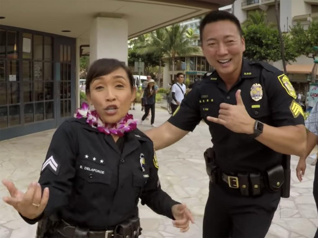Honolulu Police Department Alhoa Lip Sync Challenge