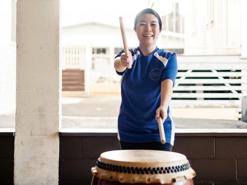 Jayna Omaye Taiko Drumming