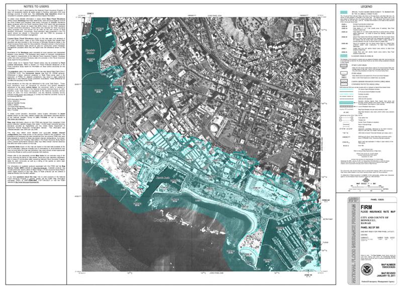 Real Estate Flood Map