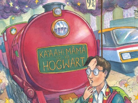 Harry Potter Hawaiian Cover Preview