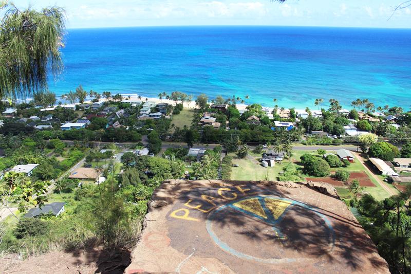 Hike Of The Month Ehukai Pillbox View