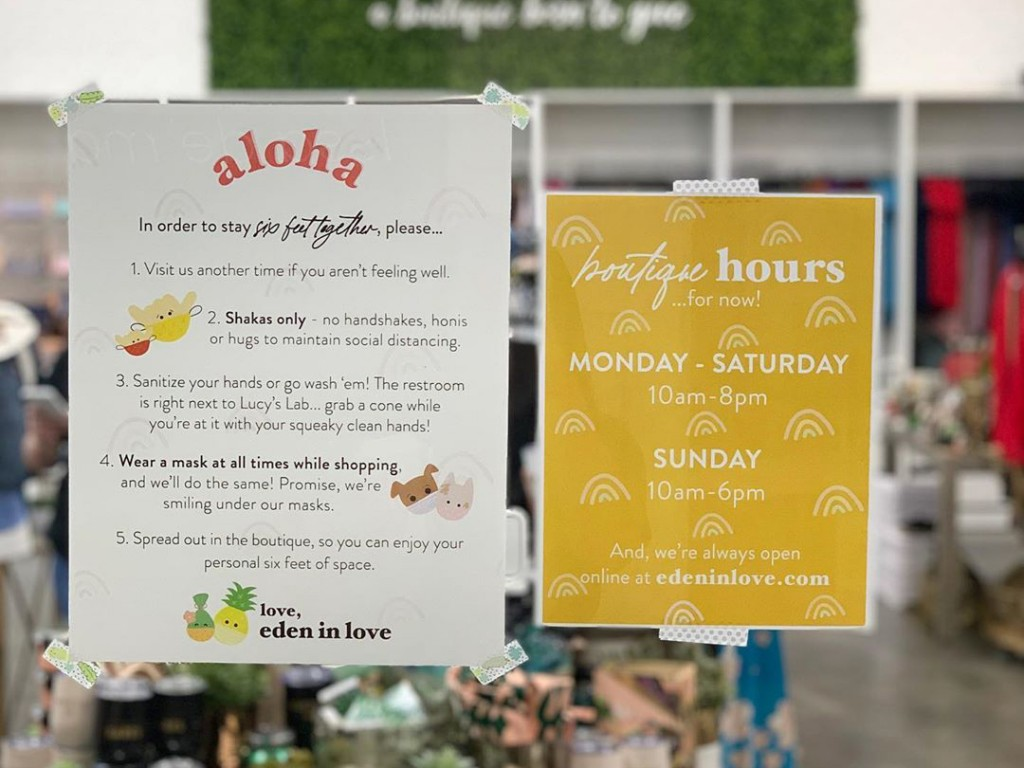 Honolulu Malls And Shops Reopening May Eden In Love
