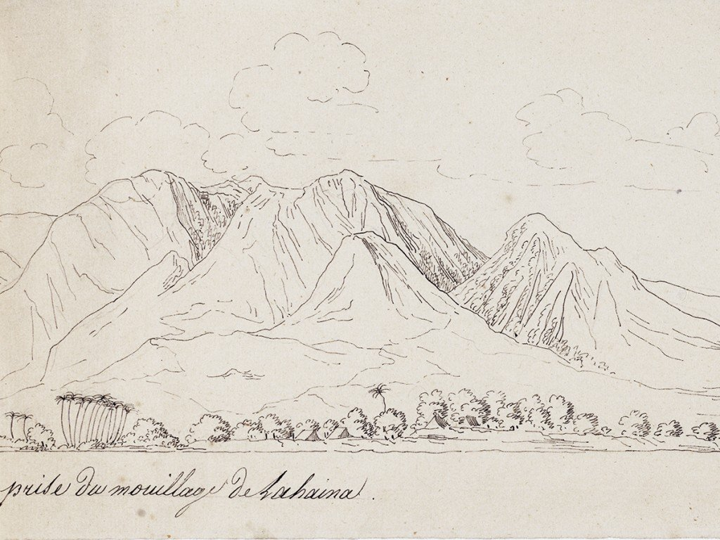 Arago Painting Maui 1819 Cover
