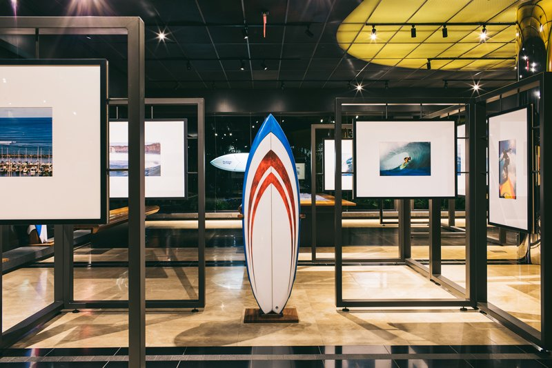 Summer Slide Surf Exhibit