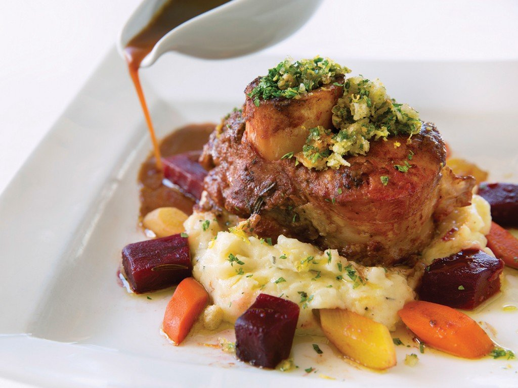 Lahaina Grill Marcho Farms Osso Buco