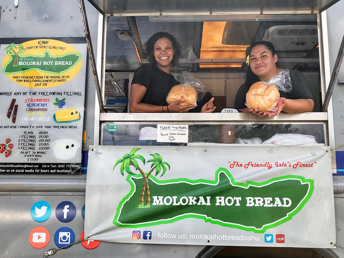 Molokai Hot Bread truck