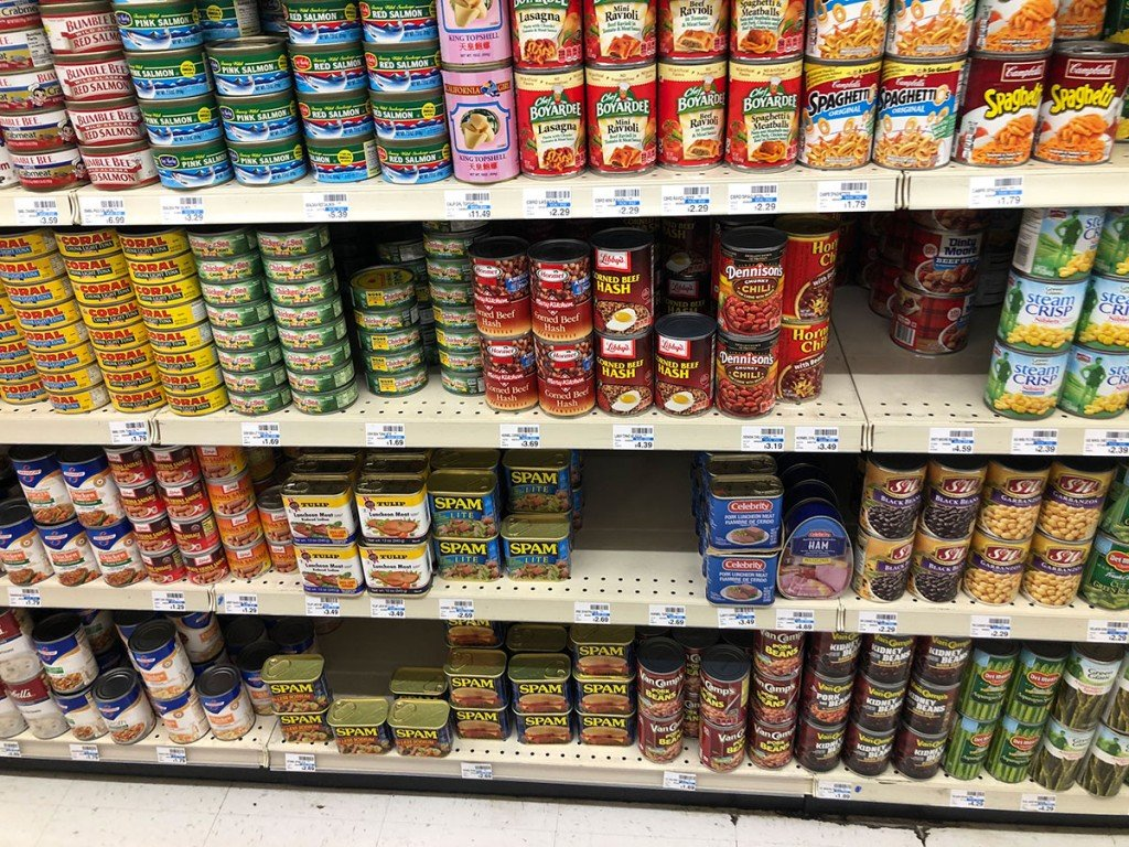 Cvs Canned Goods