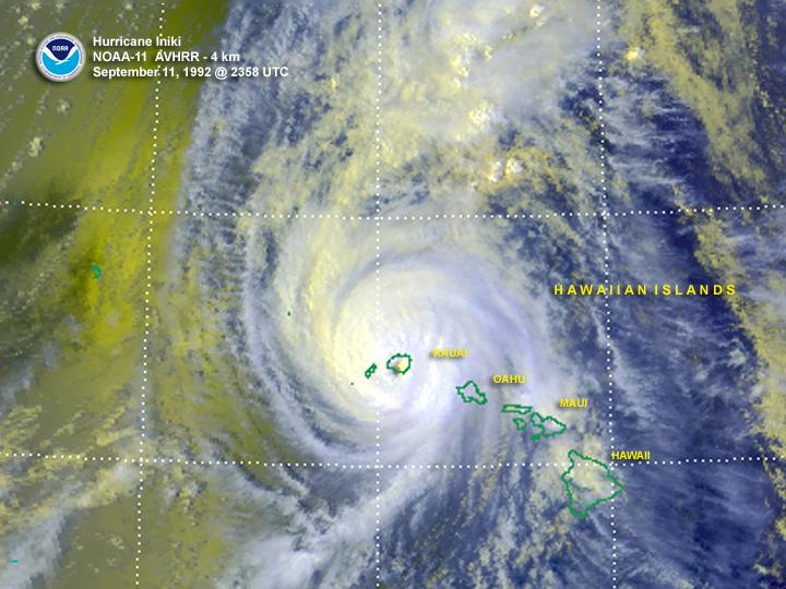 Hurricane Iniki1992