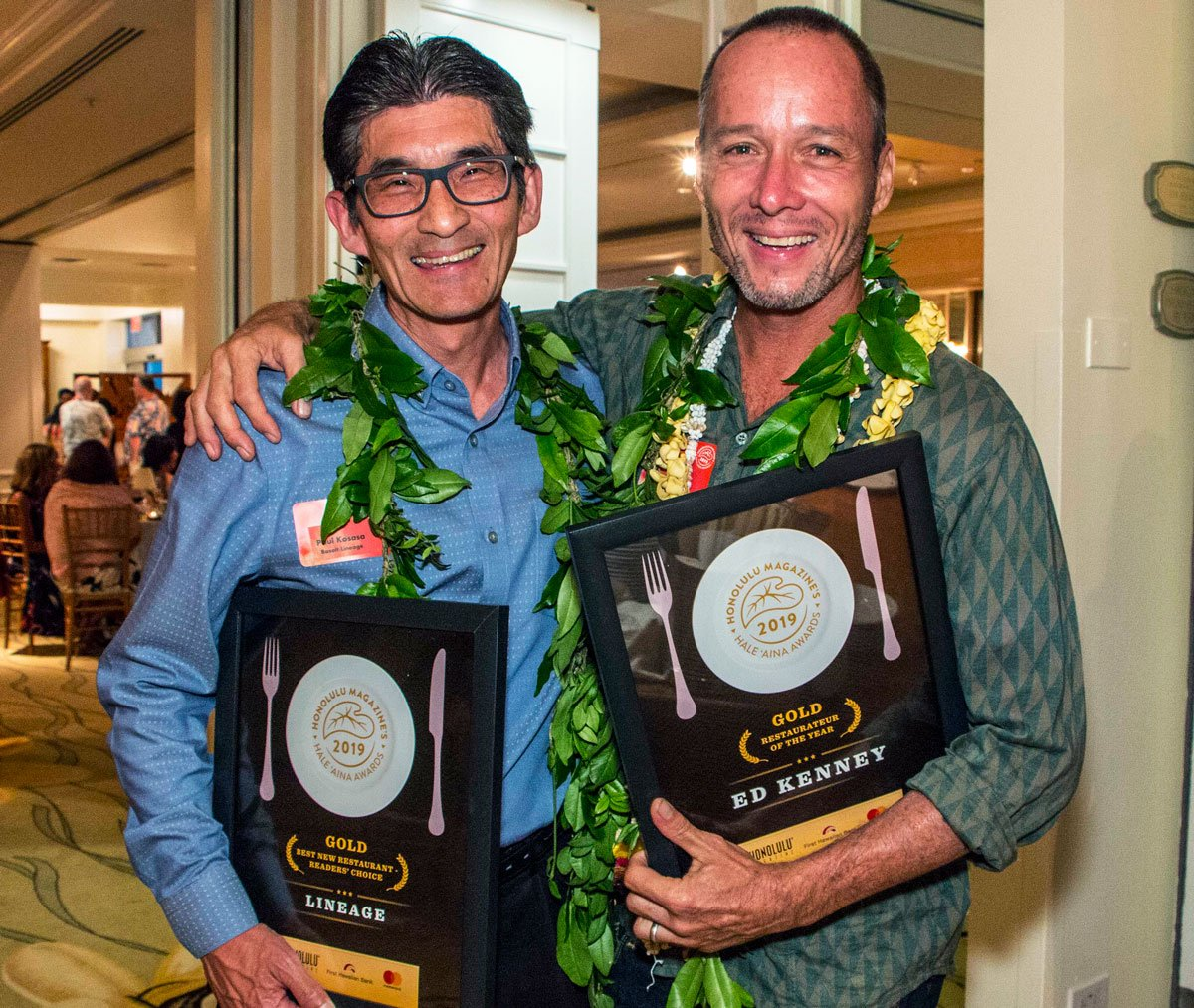 Hale Aina Awards winners Ed Kenney Lineage Maui