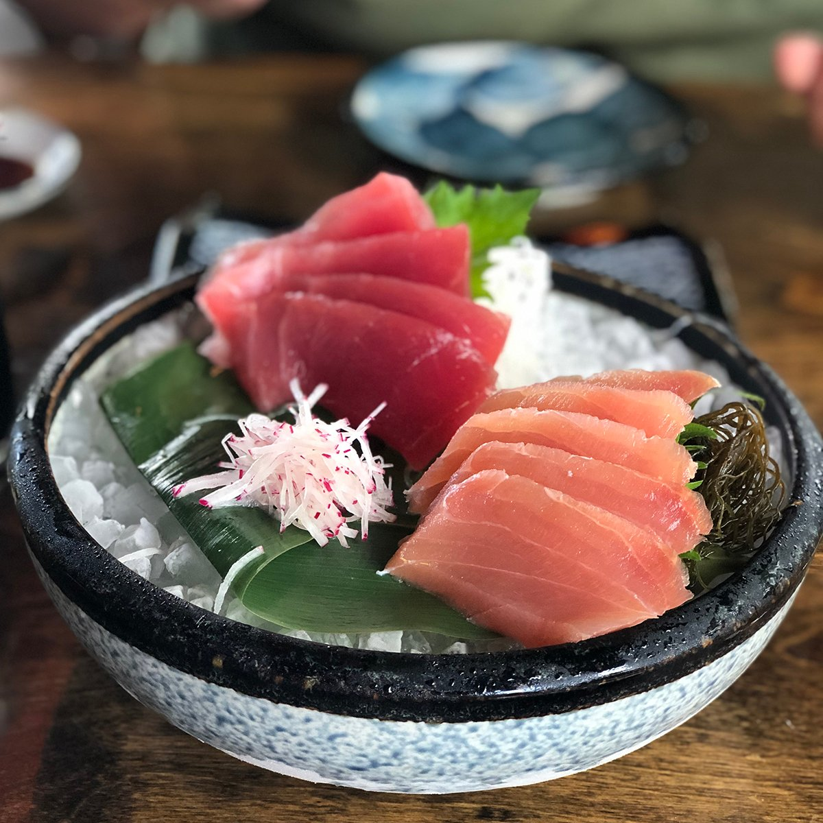 hawaiian fish sashimi