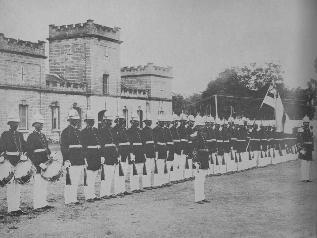 Oahu In 1963 Housing The Royal Household Guards At The Halekoa
