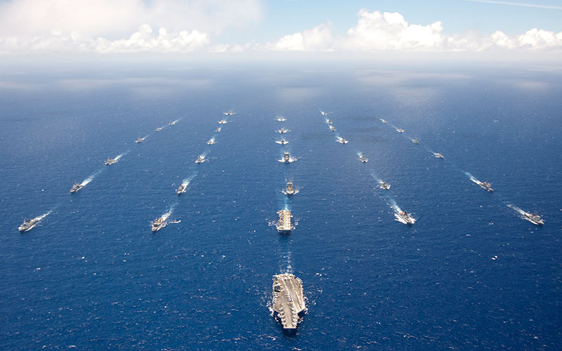 Rimpac Ships
