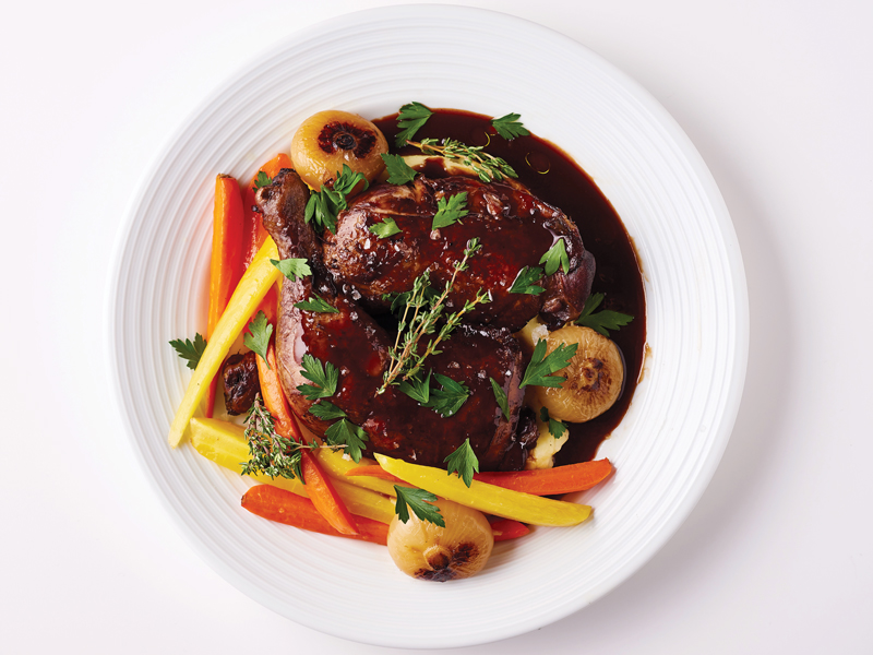 Eat Around World Grondin Coq Au Vin