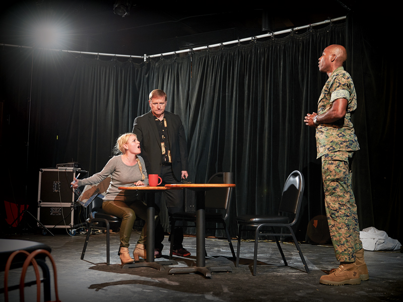 Field Notes Acting Group Scene