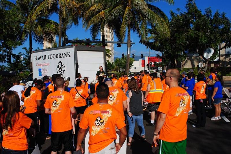 Volunteer Thanksgiving Hawaii Food Bank
