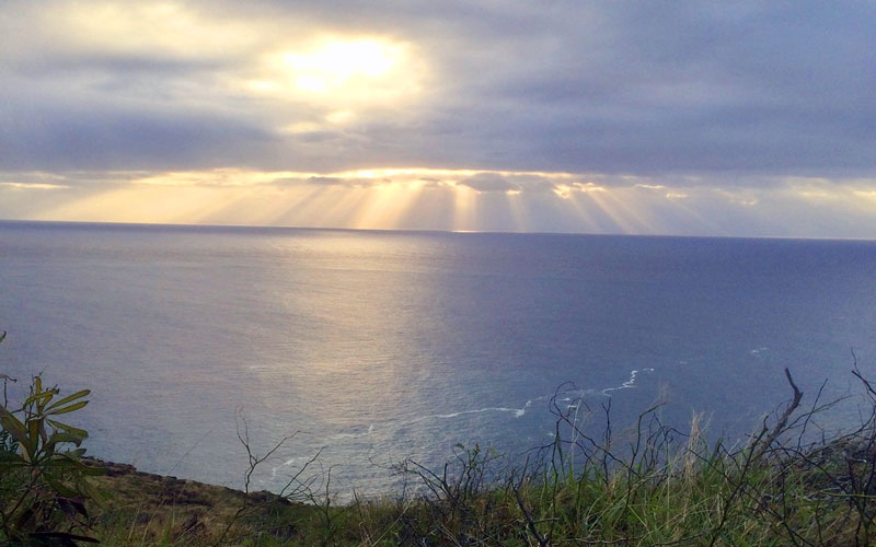 New Years Day Makapuu Sunrise