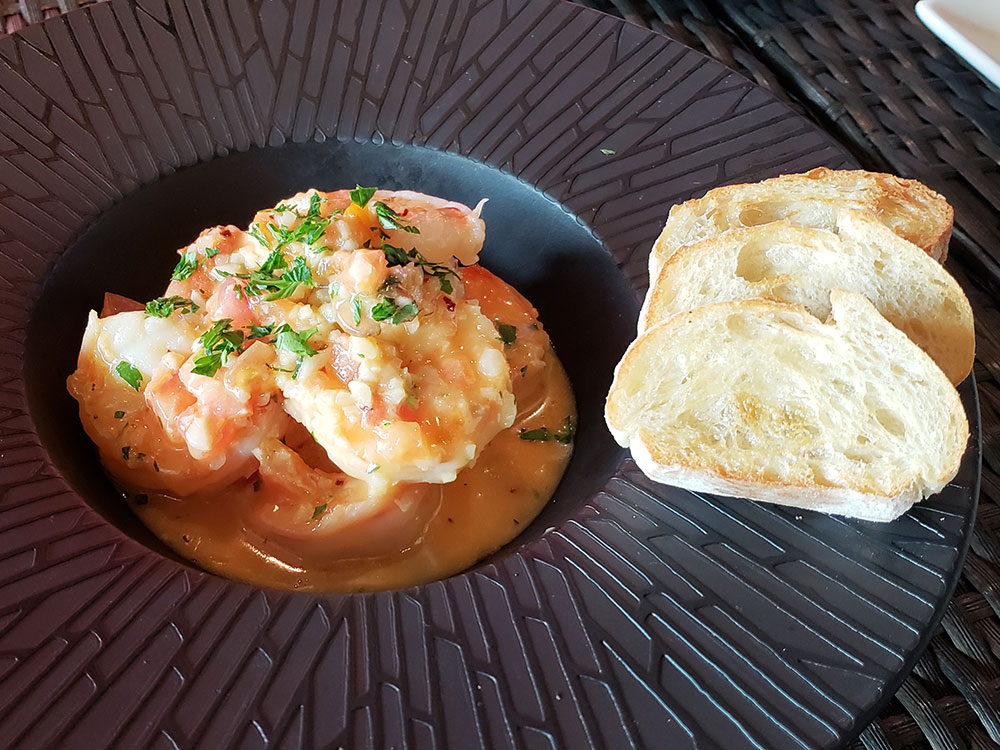 Sky Waikiki Spicy Garlic Shrimp