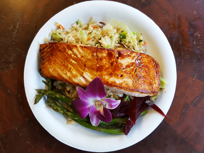 Sweet Maries Teriyaki Salmon