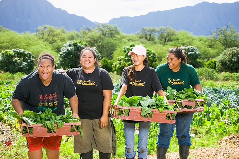 Hawaii Community Foundation Gardening