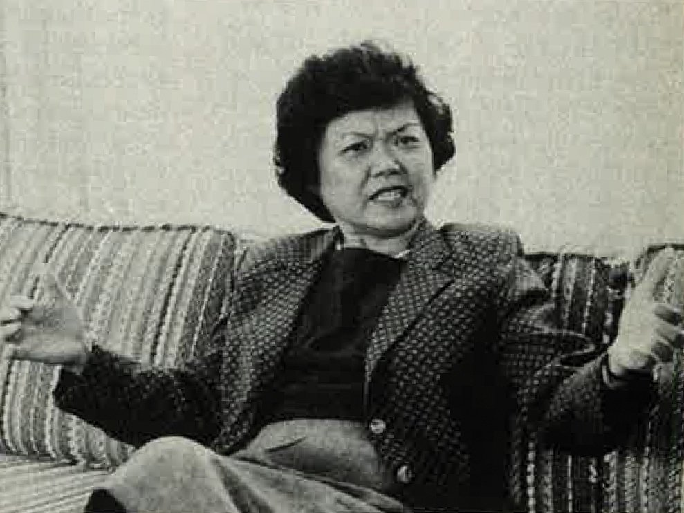 Oahu In 1985 Patsy Mink Was Already In The Political Vanguard When We Interviewed Her In 1985