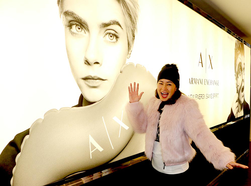Armani Exchange New Collection Stacey