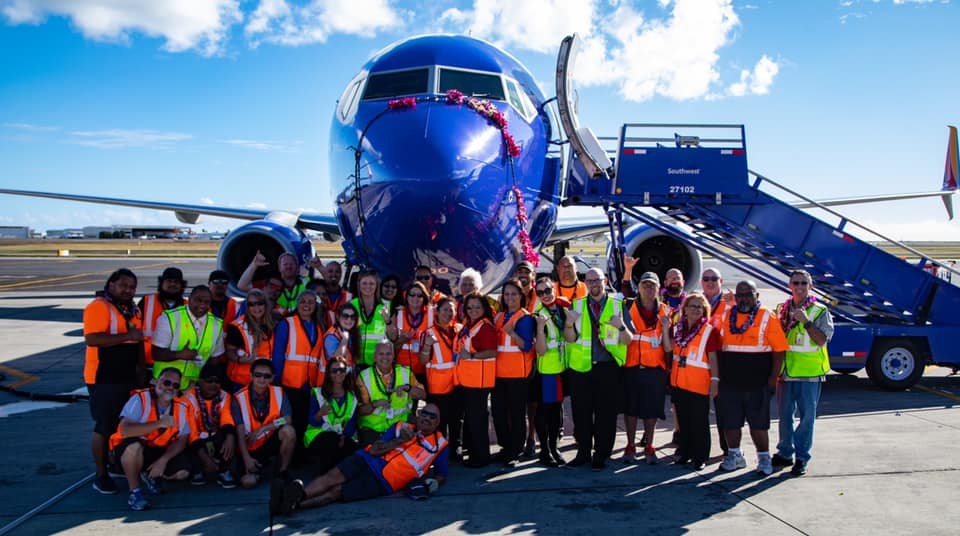 Southwest Airlines Hawaii Flights Cover