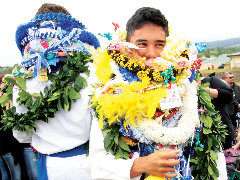 Calabash Kamehameha Graduation Leis