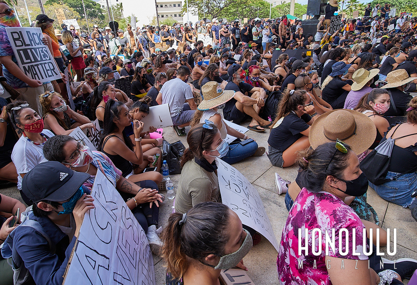 black lives matter protests in honolulu hawaii