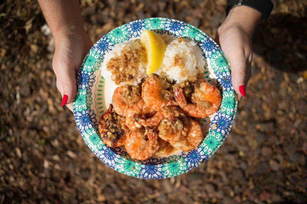 Giovannis Food Truck North Shore Shrimp Hawaii