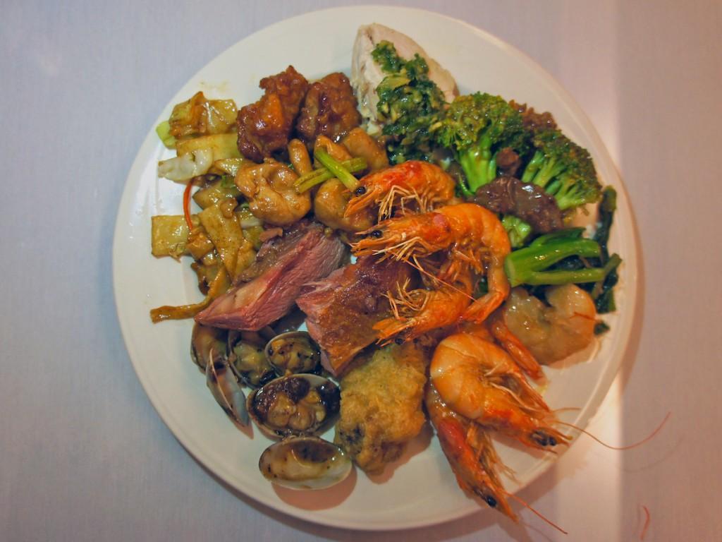 Szechuan Cuisine Maple Garden Plate Cover