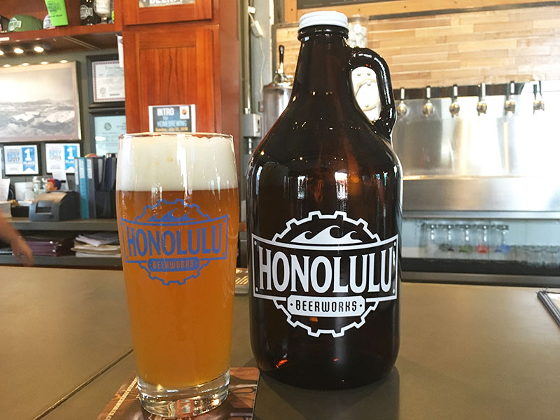 Growlers Honolulu Beerworks