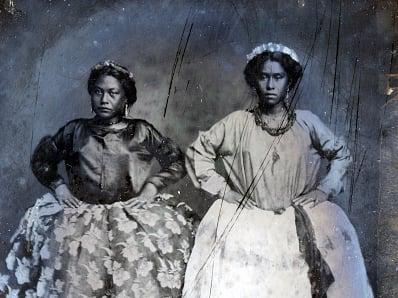 King Kalakaua Exhibit Hula Photograph