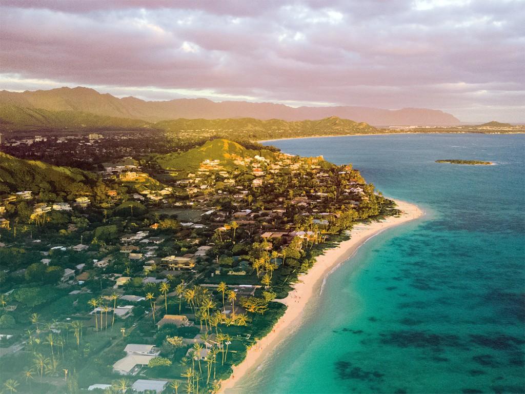 Kailua Cover Story Birdseye View