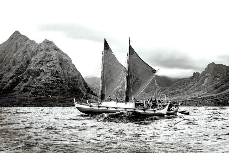 Islanders Of The Year Hokulea Bw