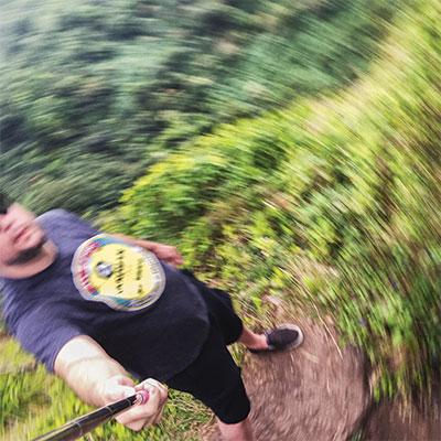 Hawaii Mike Selfie