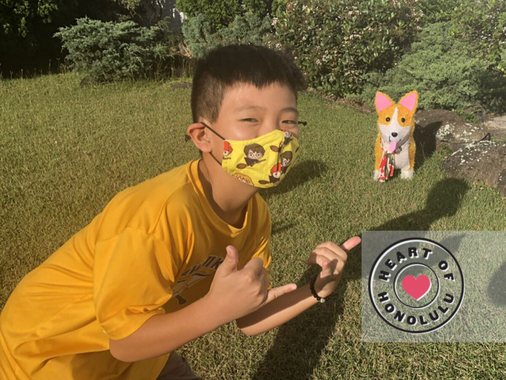 Heart Of Honolulu How This 11 Year Old Honolulu Family Virtual Fun Run Finisher Is Helping Others1
