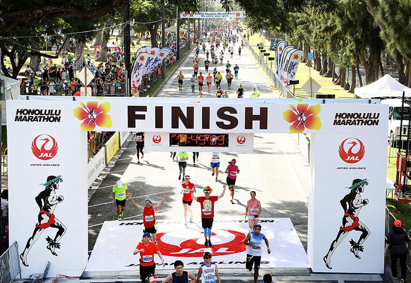 Races 2018 Honolulu Marathon