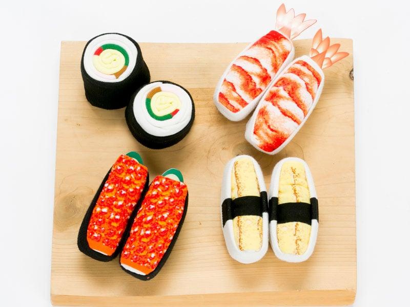 Art Blog Sushi Socks