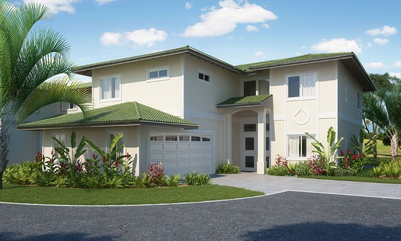 Construction is underway at Laule'a Kai Estates, located along the Hawai'i Kai Golf Course.