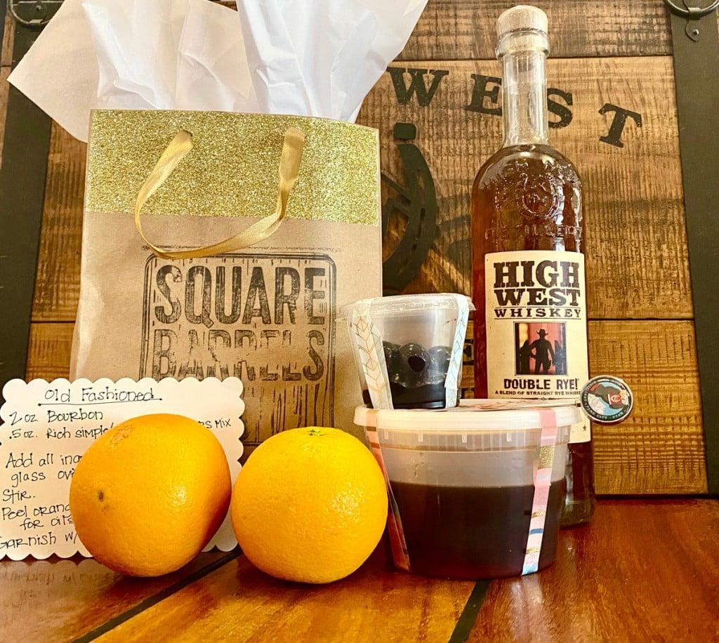 Square Barrels Old Fashioned Kit