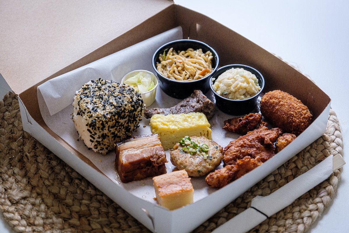 takeout bento box honolulu