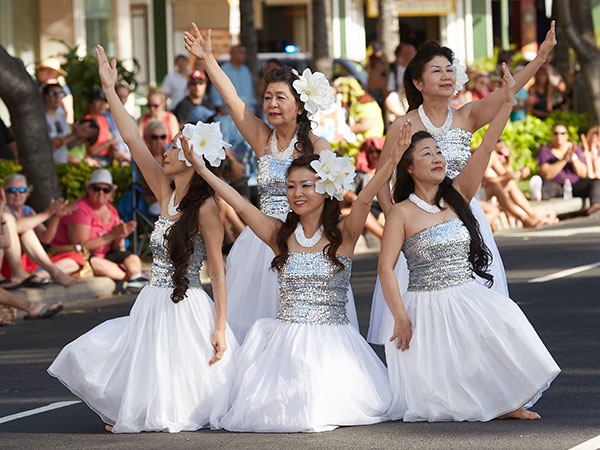 Honolulu Festival Parade Splash