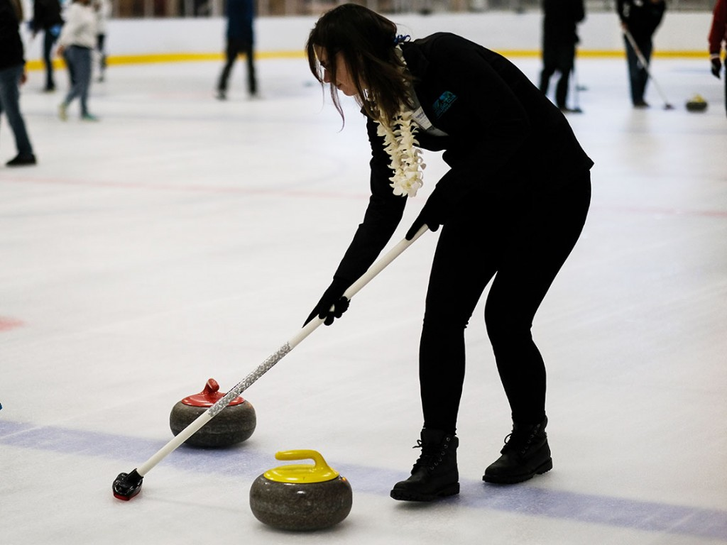 Katrina Sweeping2 Curling 2018 Cover